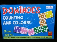 Dominoes Counting and Colours