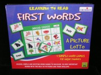 First Words Picture Lotto