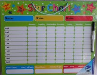 Magnetic Reward Star Chart