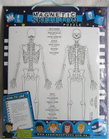 Magnetic Skeleton Puzzle
