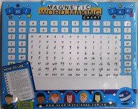 Magnetic Word Making Chart
