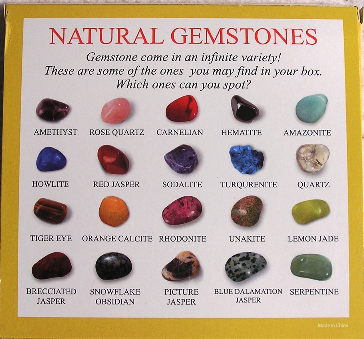 Gemstones | New Calendar Template Site