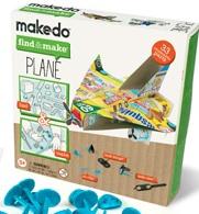 Makedo Plane Kit