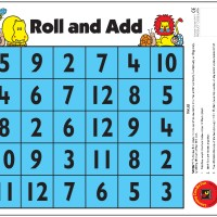 Roll and Add Desk Game