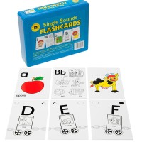 Single Sounds Flash Cards