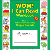 Wow! I Can Read Writing Workbook 1 Modern Cursive