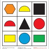 Colour & Shape Lotto