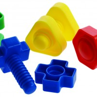 Nuts and Bolts toy