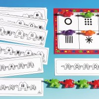 Pattern and Sequence Cards Camels