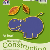 Construction Paper Pad Large