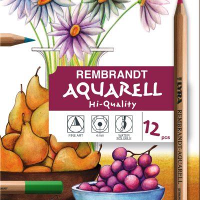 Lyra Rembrandt Aquarell 12