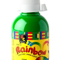 Rainbow Acrylic 250ml Leaf Green