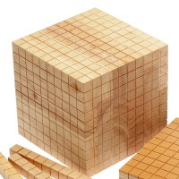 Wooden Base 10 Set Block