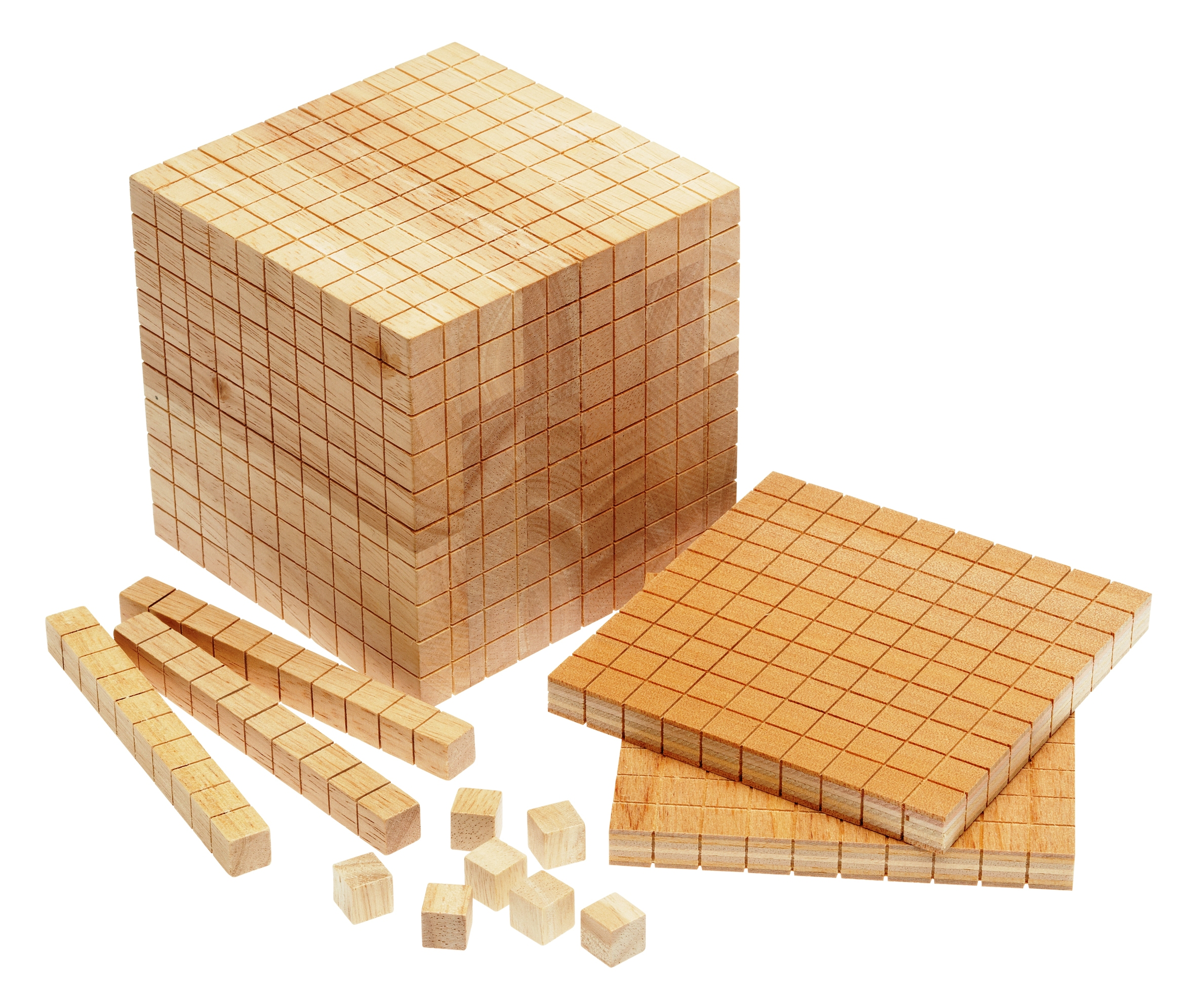 Wooden Base Ten Set – Learn Heaps