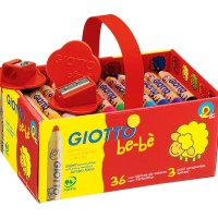Giotto Be-Be Jumbo Pencils 36