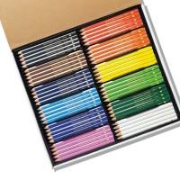 Jumbo Triangular Colouring Pencils 120