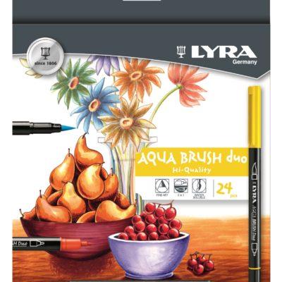 Lyra Aqua Brush Duo 24