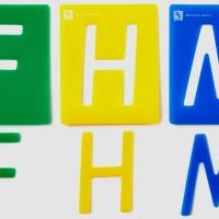 Stencils Alphabet Upper Case