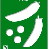Peas Stencil