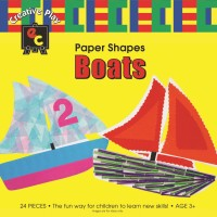 Paper Shapes Boats