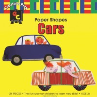 Paper Shapes Cars