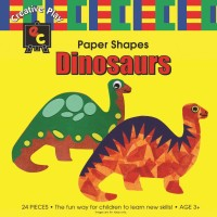 Paper Shapes Dinosaurs