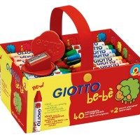 Giotto Be-Be Crayons 40