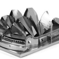 Metal Earth Sydney Opera House_03