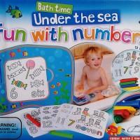 Fun with Numbers Bath Time Sea