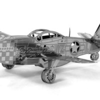 Metal Earth Mustang P51