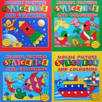Mosaic Sticker Books