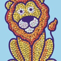 Sequin Magic Lion