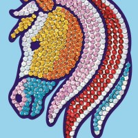 Sequin Magic Horse