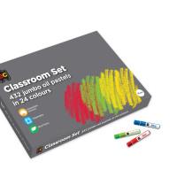 OilPastels_OPJ432_Oil Pastels Clasroom Set
