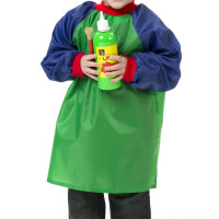 PaintAccessories_Smocks_TSGB_Toddler Smock Green and Blue