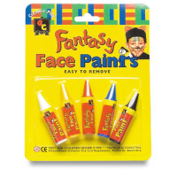 Paint_FacePaintCrayon_FPC5_Fantasy Face Paint Crayons Pkt 5