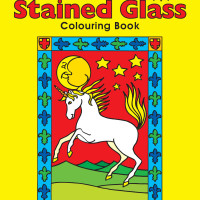 Paper_ColouringBooks_SGBK1_Stained Glass Colouring Book