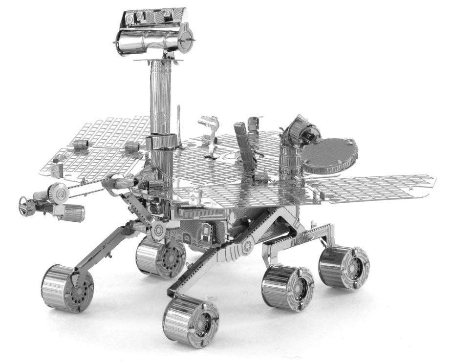 Mars Rover – 3D Laser Cut Metal Model – Learn Heaps