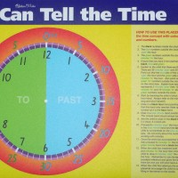 Placemat Tell the Time