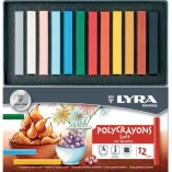 Lyra Polycrayons Assorted Colours
