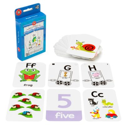 Alphabet and Numbers 1-10 Flashcards
