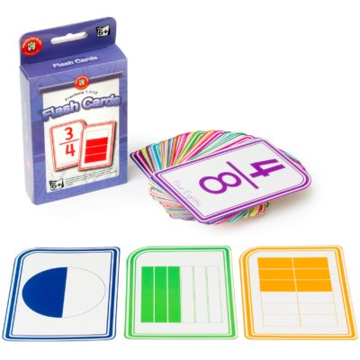 Fractions Flashcard