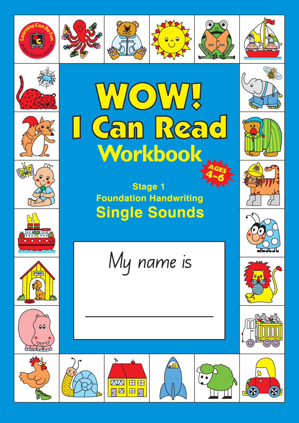 Wow! I Can Read Writing Workbook – Stage 1 – Foundation ...