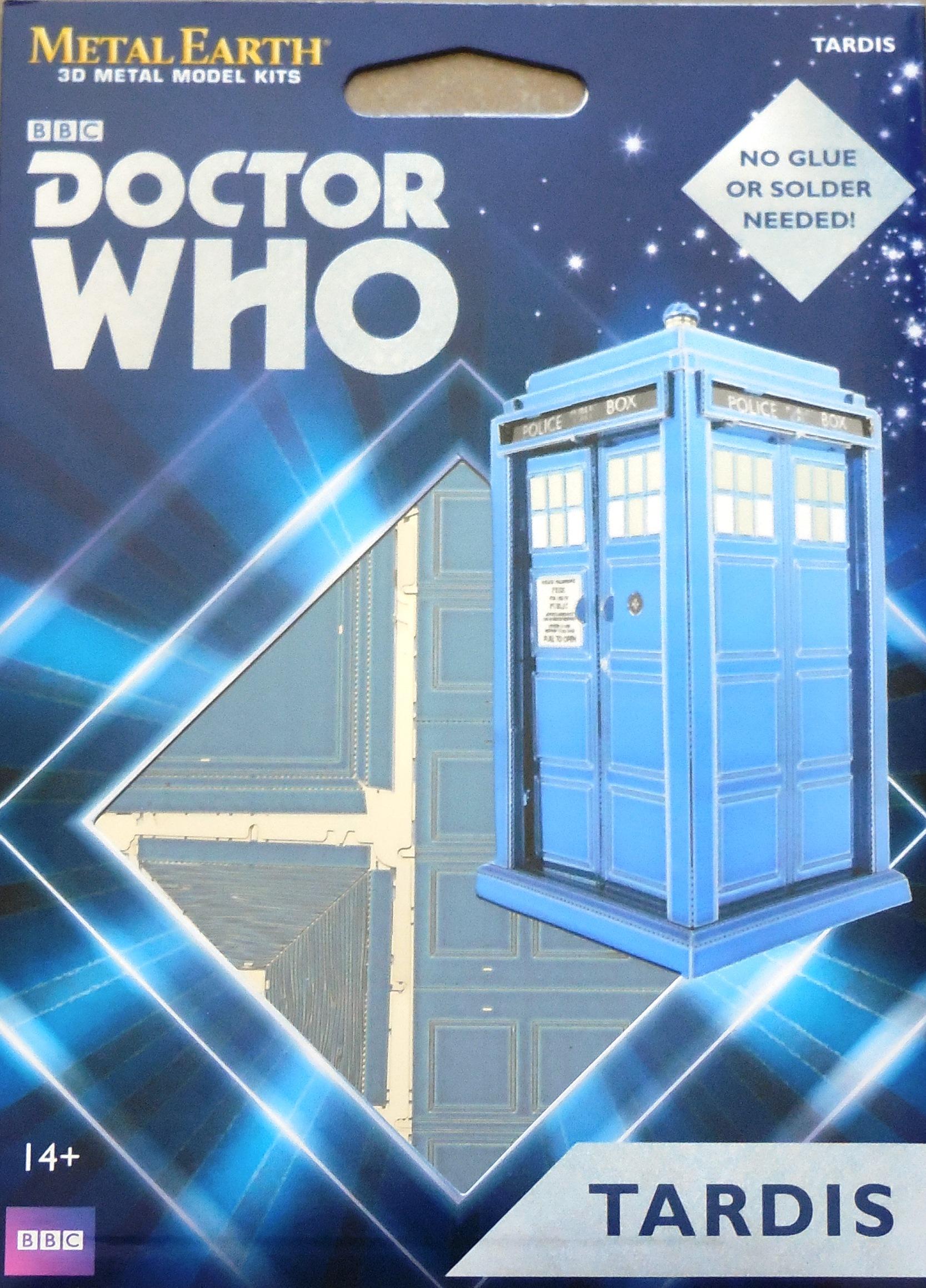 Metal Earth Doctor Who Tardis Speelgoed en spellen Modellen